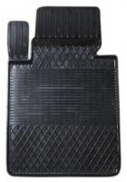 Коврик резиновый для MERCEDES C-KLASA (2007-  ) передній MatGum (<HX-лівий> - чорний)
