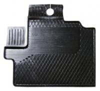 Коврик резиновый для FIAT DUCATO (2007-  ) передній MatGum (<KX-лівий> - чорний)