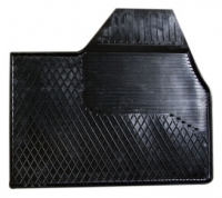 Коврик резиновый для FIAT DUCATO (2007-  ) передній MatGum (<KX-правий> - чорний)