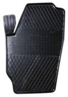 Коврик резиновый для SKODA FABIA (2007-  ) передній MatGum (<LX-лівий> - чорний)