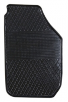Коврик резиновый для SKODA ROOMSTER передній MatGum (<LX-правий> - чорний)