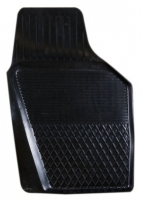 Коврик резиновый для MITSUBISHI OUTLANDER (2007-  ) передній MatGum (<M-правий> - чорний)