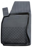 Коврик резиновый для Dacia Logan передній MatGum (<P-лівий> - чорний)