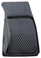Коврик резиновый для AUDI A4 (2008-  ) передній MatGum (<P-правий> - чорний)