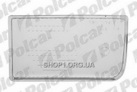 Polcar 201529-9 Стекло фары противотуманной BMW 5 (E34), SDN 88-95 +комби 92-3.97