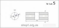 00.05 Універсальний бачок глушника   D 135 довжина 400 / D 47