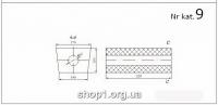 00.09 Універсальний бачок резонатора   170x120x320 / D 50