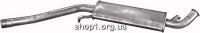 01.09 Резонатор (середній глушник)  для Audi 100 83-90/200 83-84 2.0-2.4D