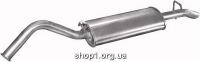 01.10 Глушник задній (кінцевий, основний) для Audi 100 83-90/200 83-84 1.8/2.0