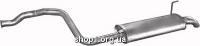 01.12 Глушник задній (кінцевий, основний) для Audi 80 91-95 1.9TD/TDi