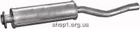 01.13 Резонатор (середній глушник)  для Audi 80 80-87/Coupe 82-86 1.6D