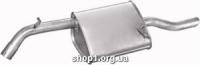 Marix 05.17 Глушник задній (кінцевий, основний) Marix alu для Daewoo Nubira 2.0i Sedan -16V 97-06/99