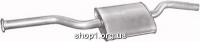 Marix 13.70 Резонатор (середній глушник) Marix alu для Mercedes 123 80-85 2.0 SDN/kombi