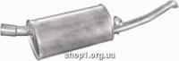 Marix 17.115 Глушник задній (кінцевий, основний) Marix alu для Opel Corsa A 1.3S/1.3i/1.4i SDN kat 83-90