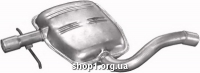 Marix 30.249 Резонатор (середній глушник) Marix alu для VW Golf III 1.9TDi 96-00