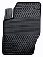 Коврик резиновый для PEUGEOT 307, 308 передній MatGum (<PX-лівий> - чорний)