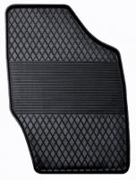 Коврик резиновый для PEUGEOT 307, 308 передній MatGum (<PX-правий> - чорний)