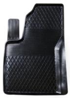Коврик резиновый для FORD KA (2009-  ) передній MatGum (<R-лівий> - чорний)