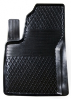 Коврик резиновый для PEUGEOT 208 передній MatGum (<R-лівий> - чорний)