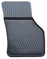Коврик резиновый для SKODA OCTAVIA (2014-  ) передній MatGum (<TX-правий> - чорний)