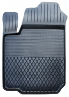 Коврик резиновый для FIAT DOBLO передній MatGum (<U-лівий> - чорний)