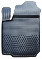 Коврик резиновый для RENAULT CLIO (2002-  ) передній MatGum (<U-лівий> - чорний)