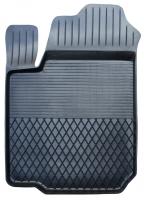 Коврик резиновый для SUZUKI GRAND VITARA (2006-  ) передній MatGum (<U-лівий> - чорний)