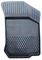 Коврик резиновый для RENAULT CLIO (2002-  ) передній MatGum (<U-правий> - чорний)