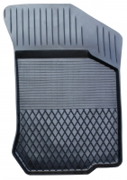 Коврик резиновый для KIA CERATO (2006-  ) передній MatGum (<U-правий> - чорний)
