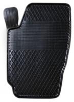 Коврик резиновый для SKODA FABIA передній MatGum (<X-лівий> - чорний)