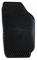 Коврик резиновый для SKODA FABIA передній MatGum (<X-правий> - чорний)