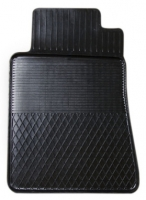 Коврик резиновый для MERCEDES 190 передній MatGum (<Y-лівий> - чорний)
