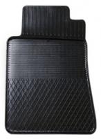 Коврик резиновый для MERCEDES E-KLASA (2002-  ) передній MatGum (<Y-лівий> - чорний)