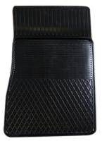 Коврик резиновый для RENAULT CLIO (2005-  ) передній MatGum (<Y-правий> - чорний)